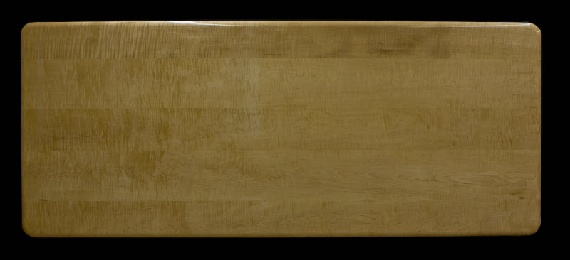 Tiger maple table top.